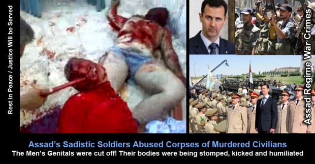 Syria systematic brutality on an industrial scale