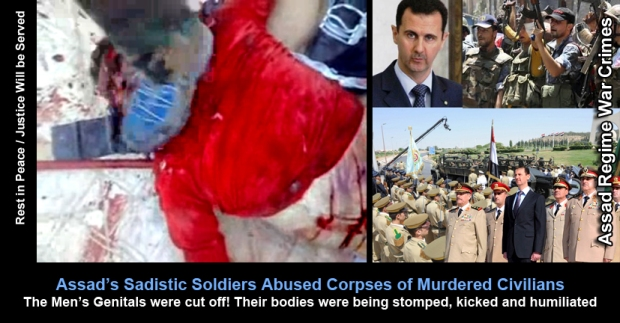 Syria Assad Regime Torture War Crimes