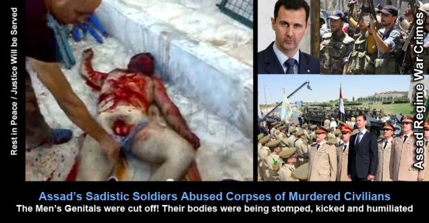 Syrian protestors suffer physical violence, strangulation, homicide, shootings and general assaults