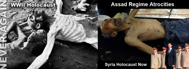 assad syria crimes brutality torture