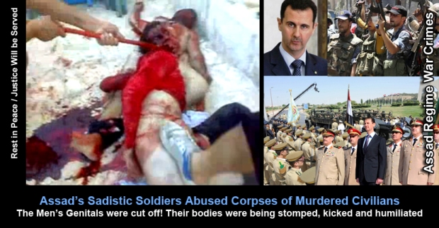 assad syria crimes children