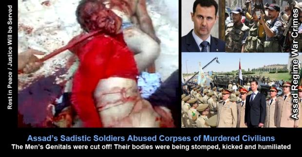 Syria President Al-Assad's Horrendous Torture