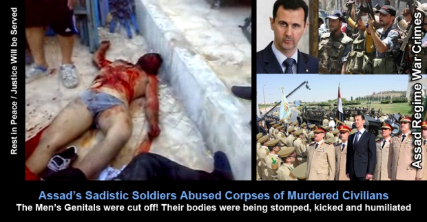 Syria Assad Regime extreme brutality and killing