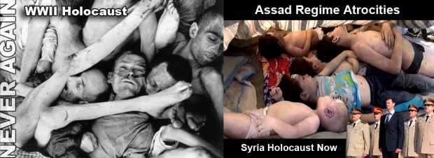 assad torture syria war crimes chemical attack