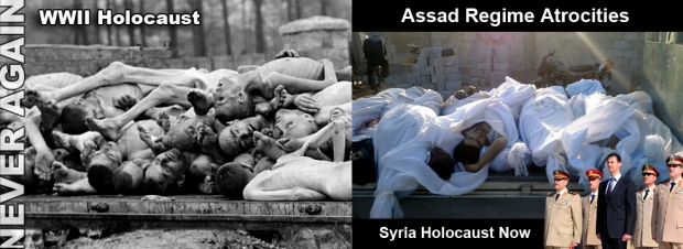 assad torture syria war crimes death toll