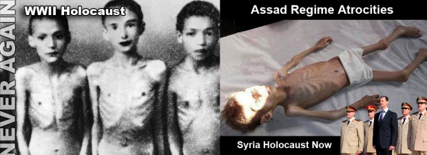assad torture syria war crimes chemical weapon