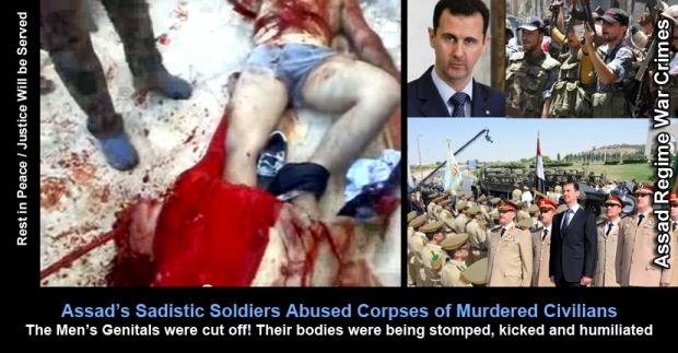 Syria Bashar al-Assad the Torture Machine
