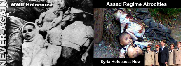 syria assad crimes children massacre