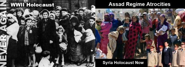 syria assad war genocide