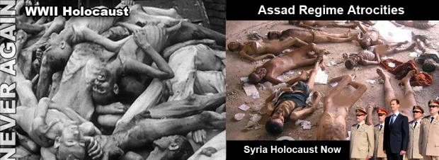 syria assad war genocide torture