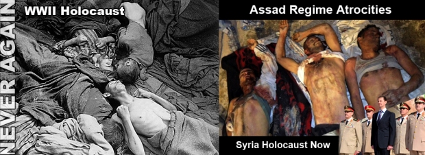 syria assad war kill holocaust