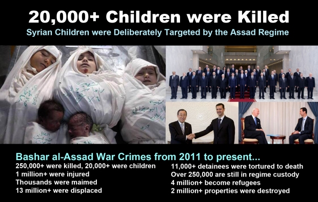 syria children assad bomb