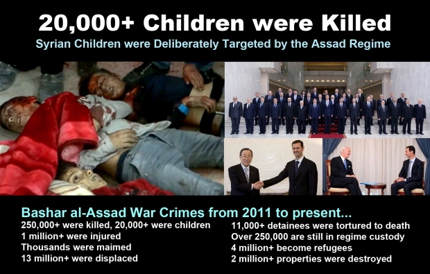 syria children assad war murder