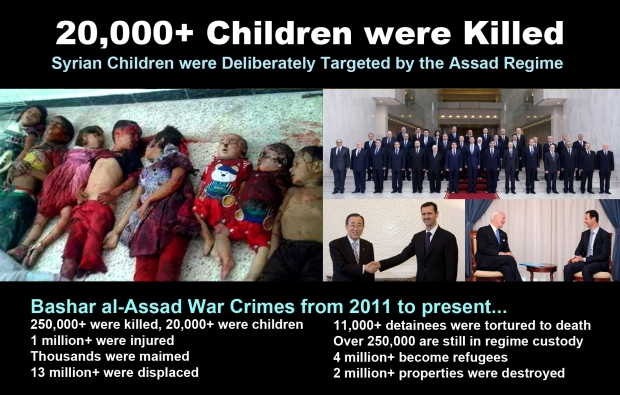syria children massacre war