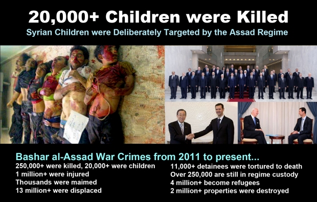 syria children murder assad regime