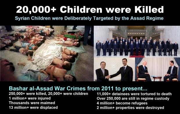 syria children torture bashar