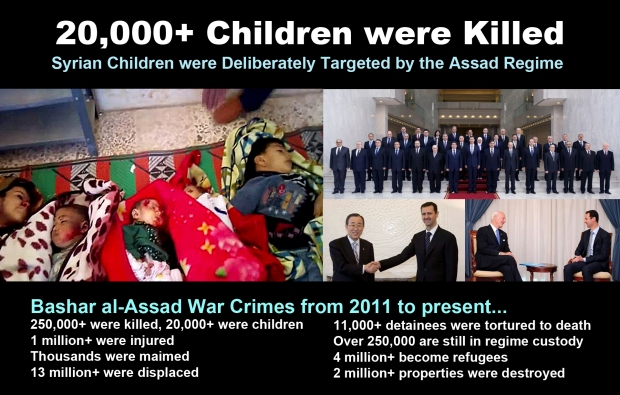 syria children war murder