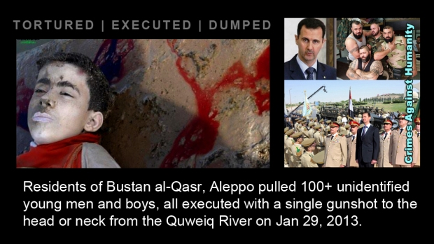 syrian assad war torture murder massacre