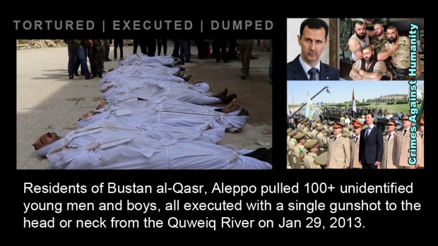 assad regime assad crime torture execute kill