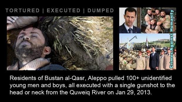 syria assad war Bustan al-Qasr Quweiq torture kill