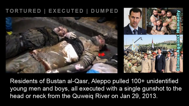 syrian assad war Bustan al-Qasr massacre