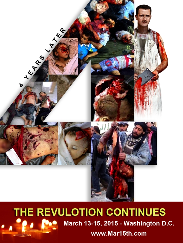 assad syria torture 4 years revolution