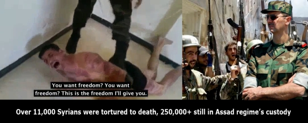 assad regime in syria torture children