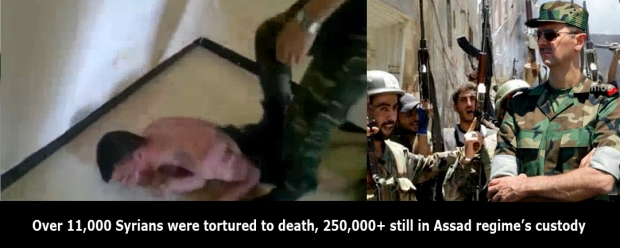assad regime torture small children