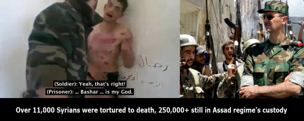 assad regime in syria torture syrian child