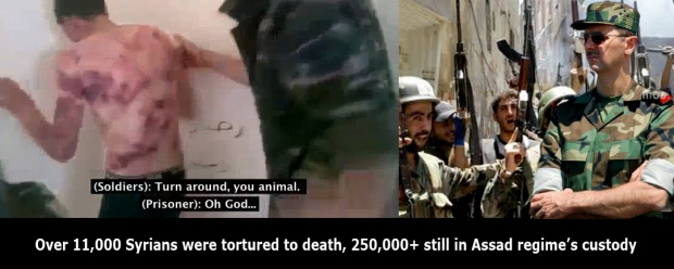 assad regime syria torture school children