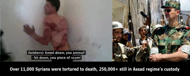 assad regime in syria torture syrians school children