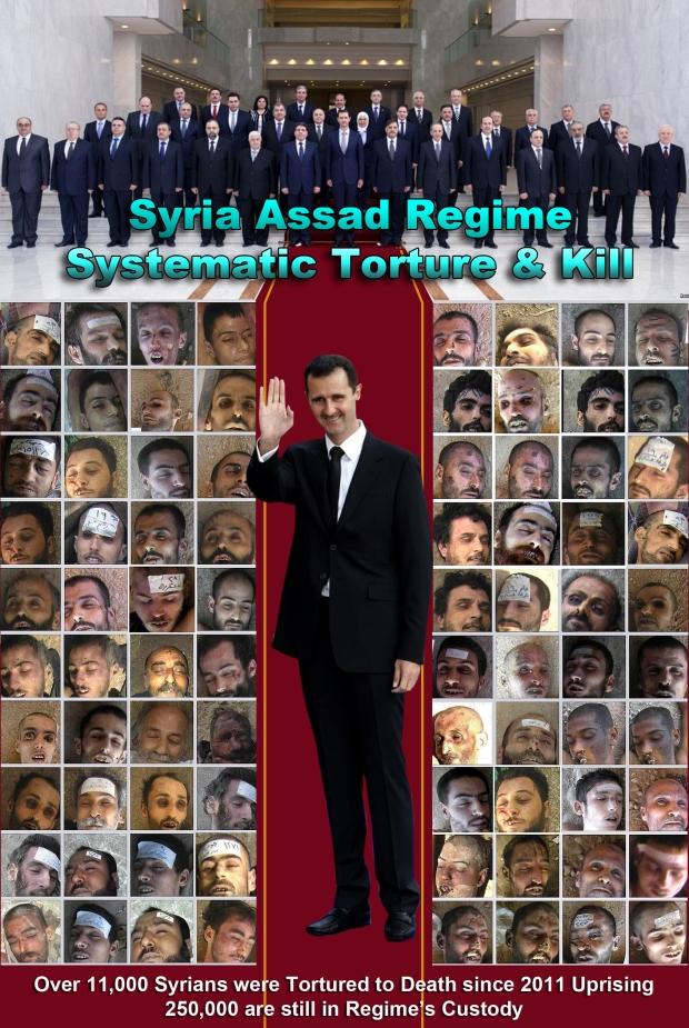 assad torture syria massacre genocide syrian