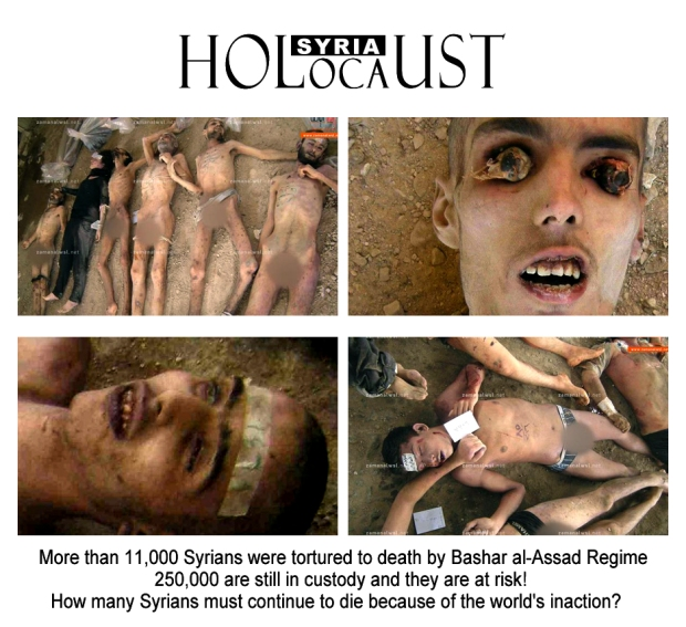 syria assad torture children holocaust mass killing