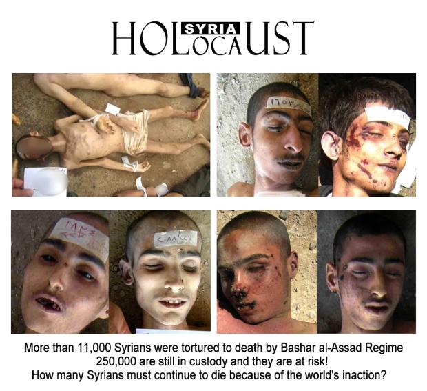 syria assad torture murder holocaust