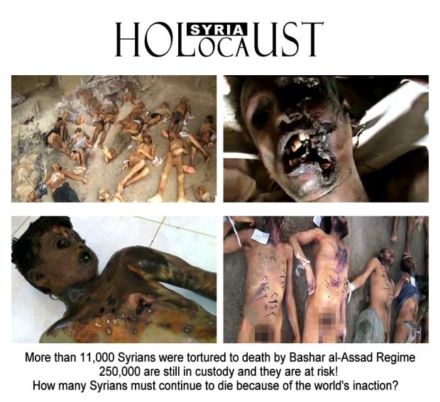 syria assad torture holocaust mass murder