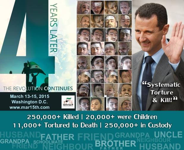 syria assad torture murder regime