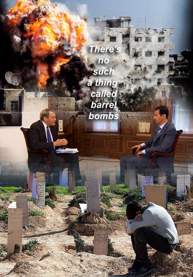 syria torture war crime assad barrel bombing