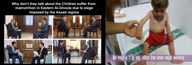Syria Assad Regime starvation as weapon of war