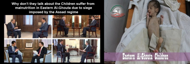 Besiege, bomb, starve, gassed by Syria Assad regime