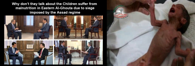 Starving to death by Syrian Government Bashar al-Assad regime