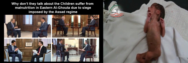Syria Assad Regime starvation until submission
