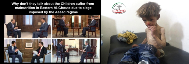 Syria Assad Regime starving children to death