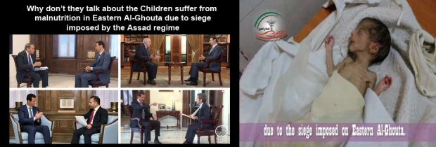 Syria Assad regime killed 20,000 Syrian children