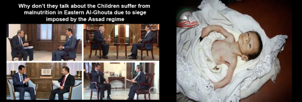 20,000 syrian children killed during the 4 years old Syria civil war