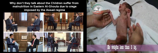 Syrian children are victim of the Syrian Civil War