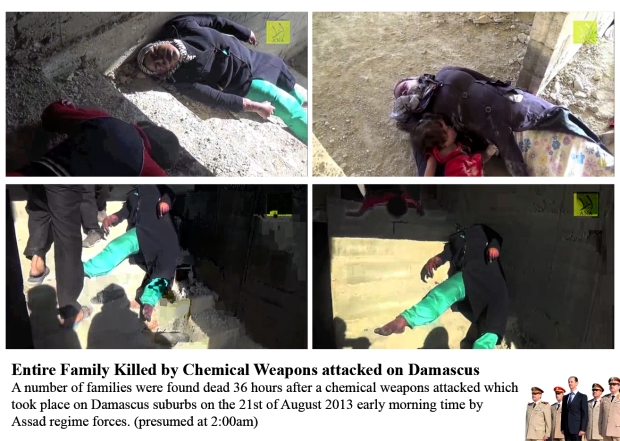 bashar al-assad regime use chemical weapons to attack civilians, cities and town