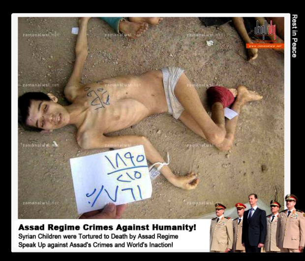 Syria Bashar al-Assad torture and kill children in his custody