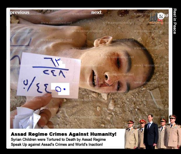 Syria Assad regime torture children to death in his prison system