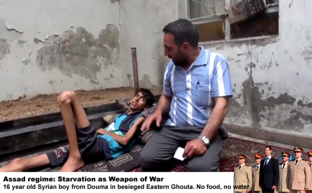 Syria Assad Starvation as Weapon of War