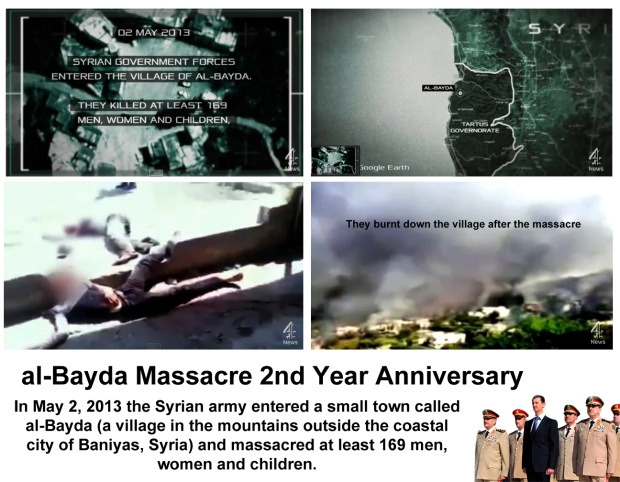 al-Bayda and Baniyas Massacres 2 Years Anniversay